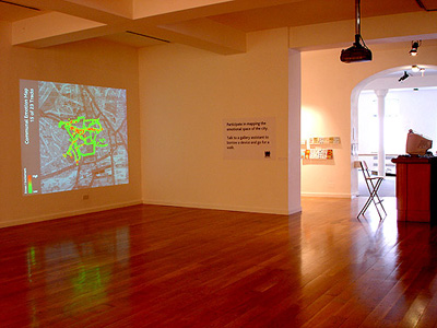 Bio Mapping exhibition at Angel Row Gallery in Nottingham